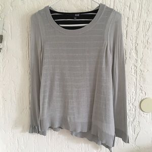 a.n.a. Long Sleeve Blouse Size Small